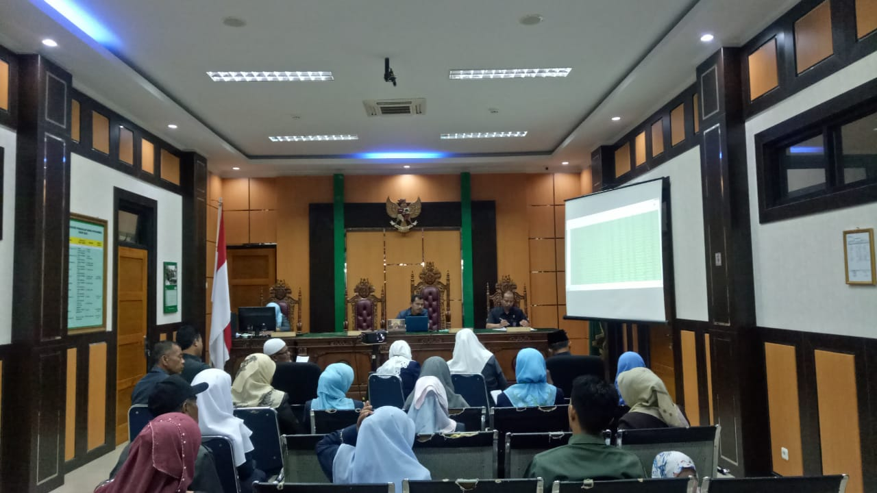 Decorum Ruang Sidang Pengadilan Agama Payakumbuh